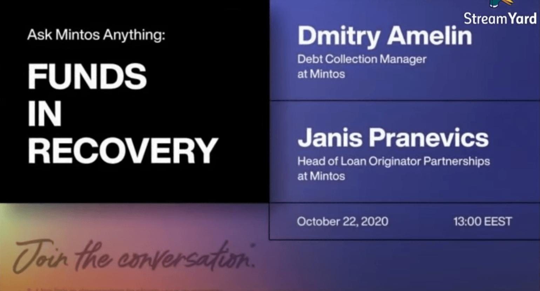 Shrnutí toho nejpodstatnějšího z Mintos AMA z 22.10.2020