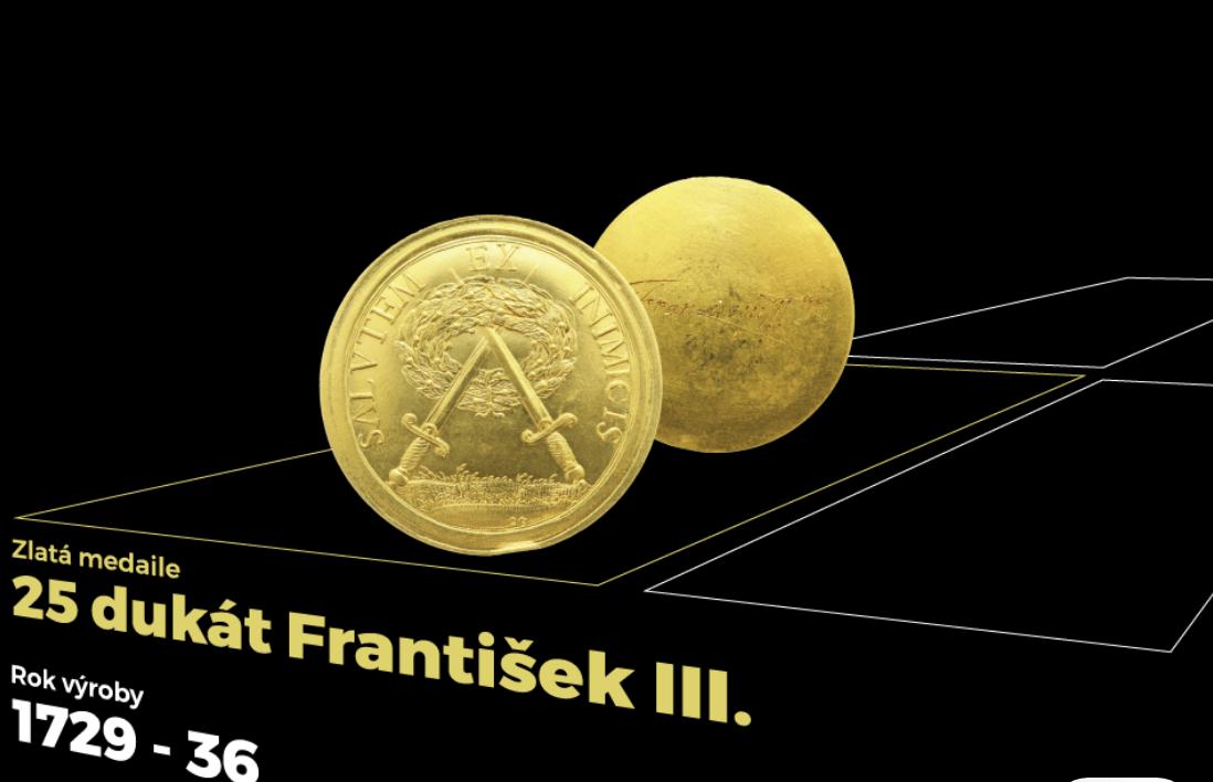 25 dukát František III. (od 20.1. 14:00)