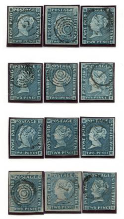 12 Modrých mauritiů POST PAID (od 2.2. 14:00)