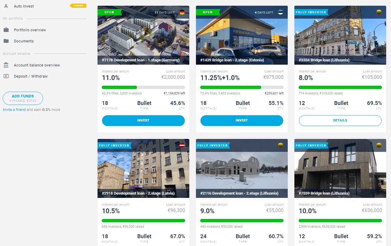 EstateGuru: recenze P2P portálu z Estonska