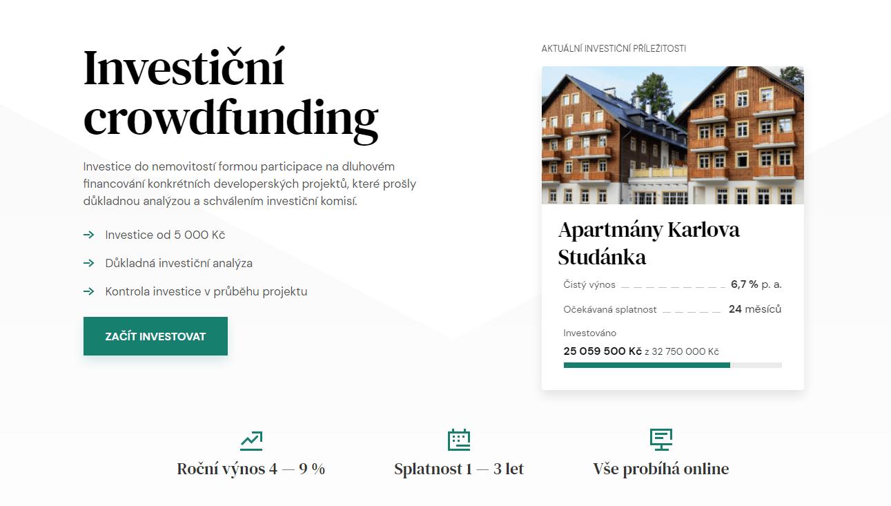 Upvest: recenze crowdfundingového portálu z ČR