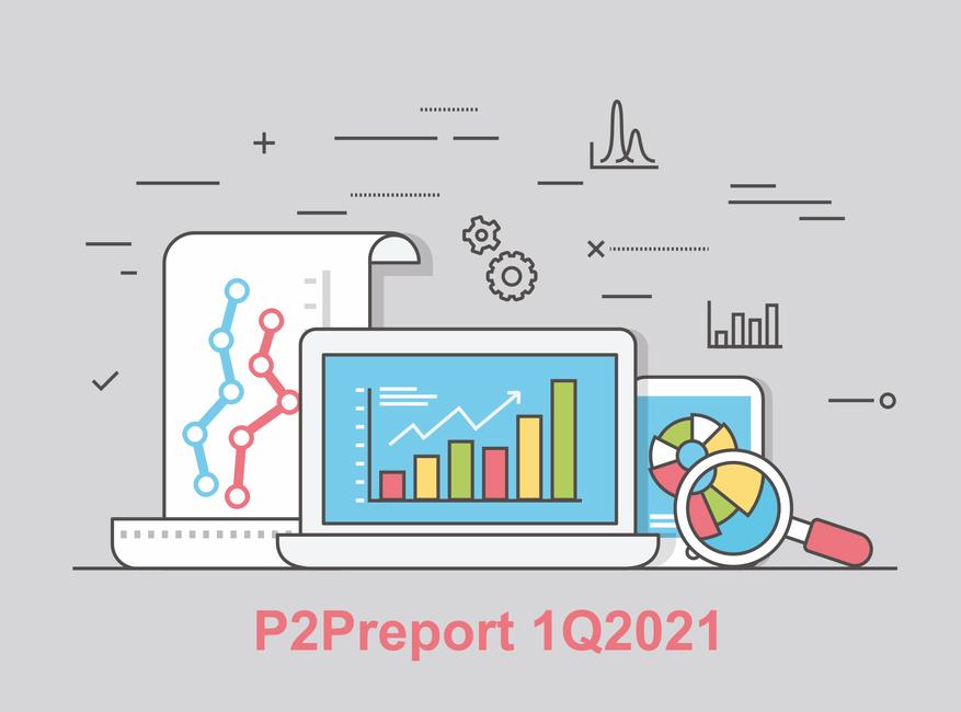 P2P investování report 1Q2021