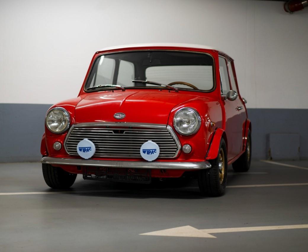 Morris Mini Cooper S 1971 (od 3.6. 10:00)