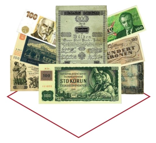 Série stokorunových bankovek (22.7. 18:00)