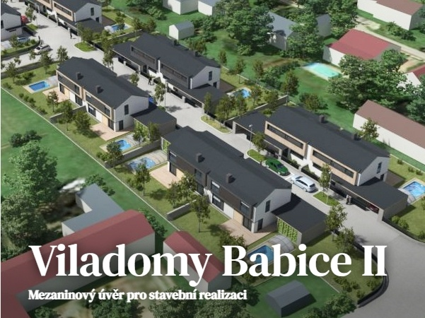 Viladomy Babice II (od 15.7. 8:00)